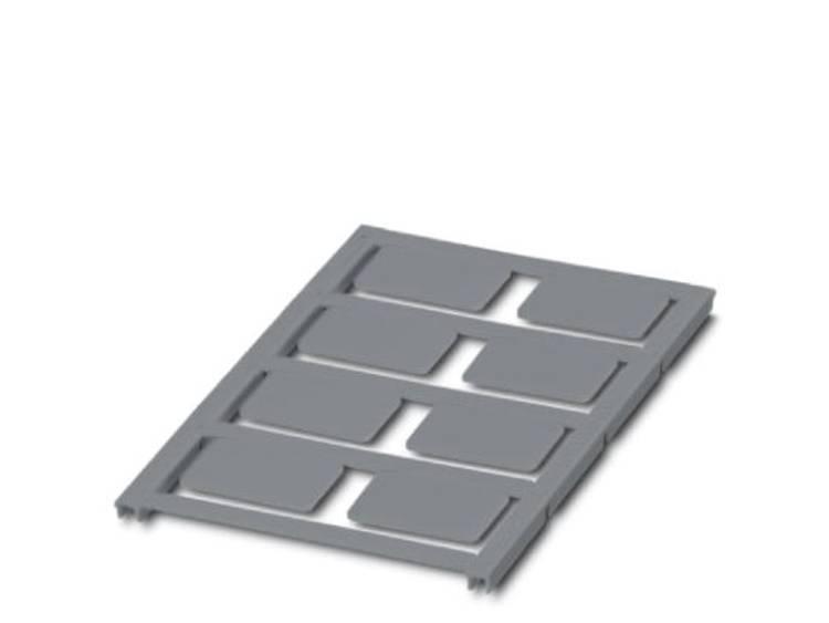 Apparaatmarkering Montagemethode: Plakken Markeringsvlak: 27 x 18 mm Geschikt voor serie Universeel gebruik Zilver Phoenix Contact UC-EMLP (27X18) SR 0825477