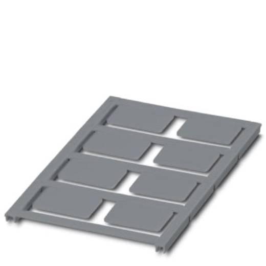 Apparaatmarkering Montagemethode: Vastklemmen Markeringsvlak: 27 x 18 mm Geschikt voor serie Frames Zilver Phoenix Conta
