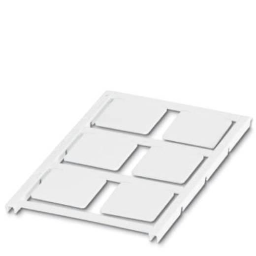 Apparaatmarkering Montagemethode: Vastklemmen Markeringsvlak: 27 x 27 mm Geschikt voor serie Frames Wit Phoenix Contact