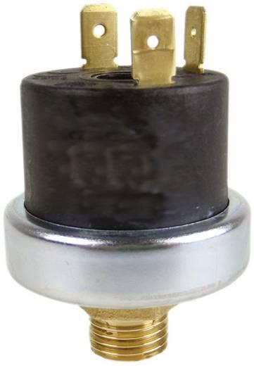 "Mater XP600 Drukschakelaar Messing 1/8"" NC/NO 2~6 bar 10A250V IP00 T=125 gr. Membraan: RVS 316,Huis: Ms Set point= 2 bar"