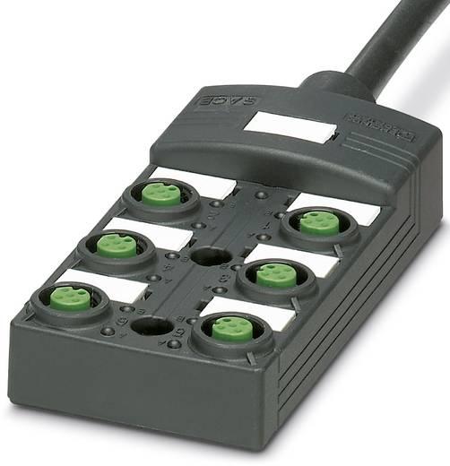 Passieve sensor/actorbox M12-verdeler met kunstof schroefdraad SACB-6/6 P-