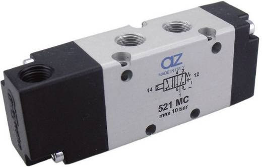 "AZ Pneumatik AZ521 MC 5/2-weg ventiel pneumatisch/veerretour NC G1/8"""