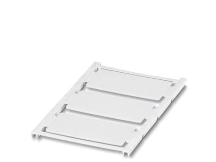 Apparaatmarkering Montagemethode: Vastklemmen Markeringsvlak: 60 x 30 mm Geschikt voor serie Frames Wit Phoenix Contact UC-EMP (60X30) 0822275 Aantal