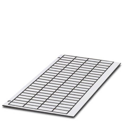 Apparaatmarkering Montagemethode: Plakken Markeringsvlak: 22 x 12 mm