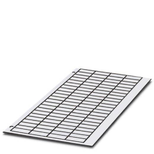 Apparaatmarkering Montagemethode: Plakken Markeringsvlak: 45 x 14 mm