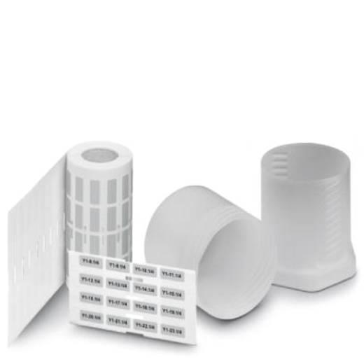 Apparaatmarkering Montagemethode: Plakken Markeringsvlak: 10 x 73 mm Geschikt voor serie Apparatuur en schakelapparatuur