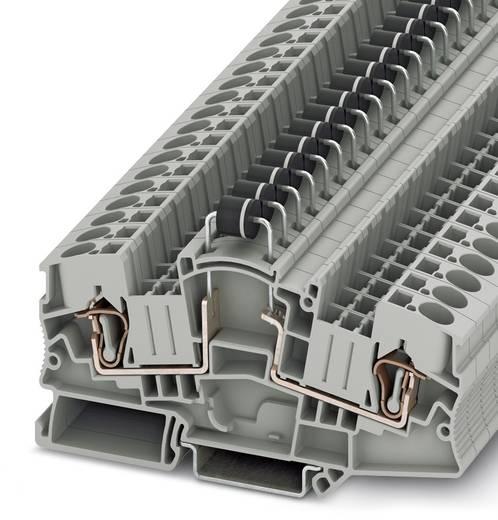 Phoenix Contact STME 6-DIO P1000Y/L-R HV STME 6-DIO P1000Y/L-R HV - componentenserieklem Grijs Inhoud: 50 stuks