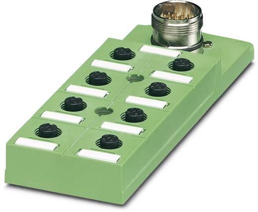 Passieve sensor/actorbox M12-verdeler met kunstof schroefdraad SACB-8/16-M