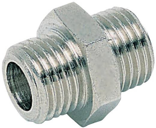 "ICH 20102 Borstnippel parallel G1/8"" x G1/8"", ISO 228"