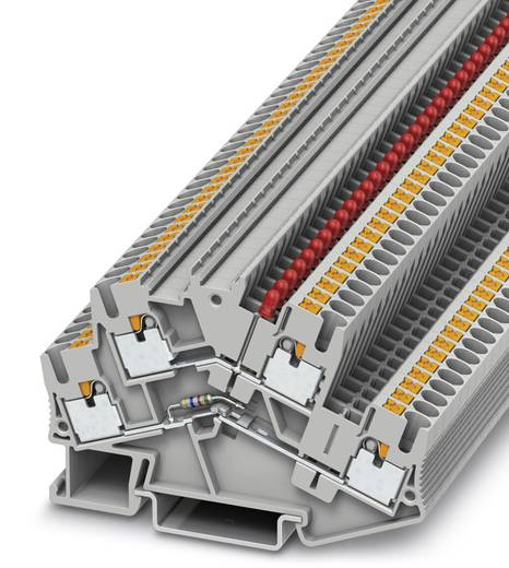 Phoenix Contact PTTBS 2,5-LA 24 RD PTTBS 2,5-LA 24 RD - Componentenserieklem Grijs Inhoud: 50 stuks