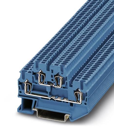 Phoenix Contact STTB 1,5 BU STTB 1,5 BU - doorgangsserieklem Blauw Inhoud: 50 stuks