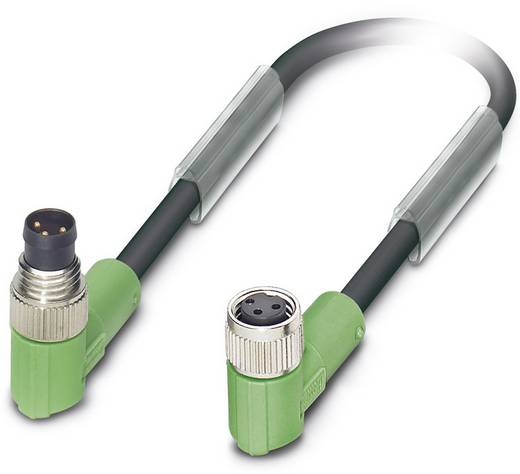 Phoenix Contact SAC-3P-M 8MR/ 0,3-PUR/M 8FR Sensor-/actorkabel Inhoud: 1 stuks