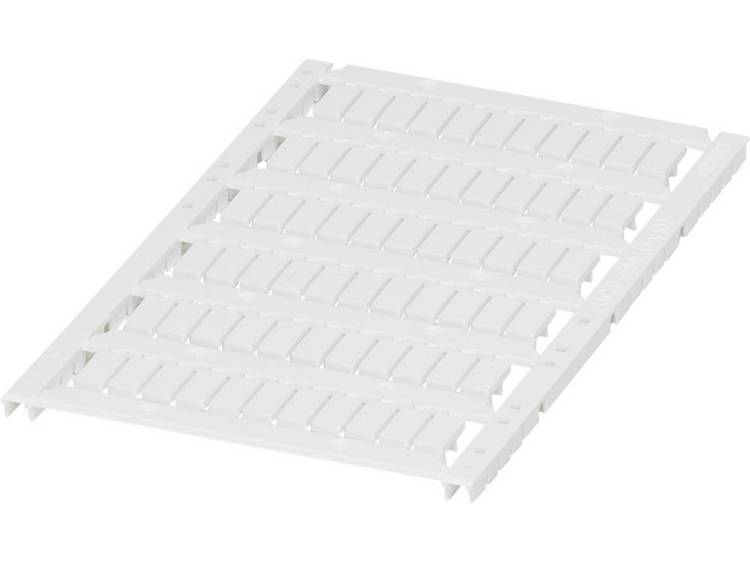 Apparaatmarkering Montagemethode: Vastklemmen Markeringsvlak: 5 x 10 mm Geschikt voor serie Apparatuur en schakelapparatuur Wit Phoenix Contact UCT-EM (5X10)