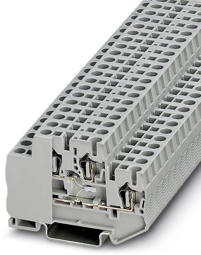 Phoenix Contact STTB 2,5-PT100 MD STTB 2,5-PT100 MD - doorgangsserieklem Grijs Inhoud: 50 stuks