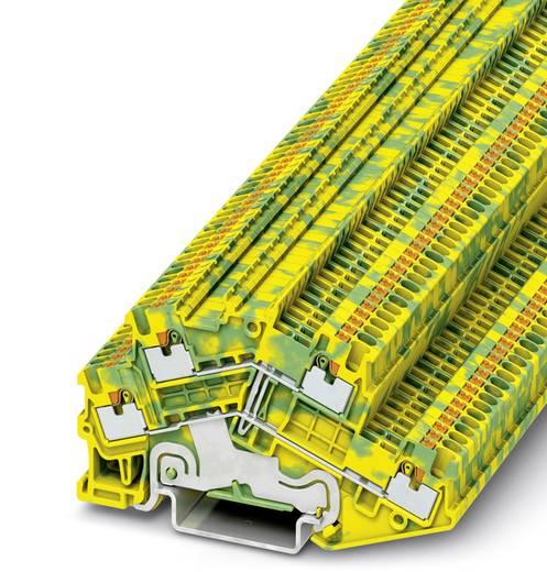 Phoenix Contact PTTBS 1,5/S-PE PTTBS 1,5/S-PE - tweelaags randaardeleidingklem Groen-geel Inhoud: 50 stuks