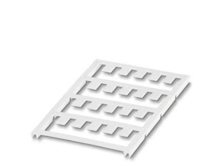 Apparaatmarkering Montagemethode: Vastklemmen Markeringsvlak: 19 x 9 mm Geschikt voor serie Apparatuur en schakelapparatuur Wit Phoenix Contact UC-EM (19X9)