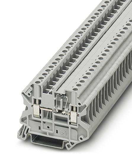 Phoenix Contact UT 4-MTD-BE UT 4-MTD-BE - connector serieklem Grijs Inhoud: 50 stuks