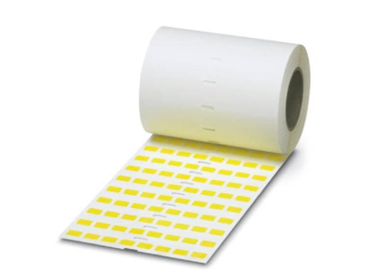 Apparaatmarkering Montagemethode: Plakken Markeringsvlak: 15 x 6 mm Geschikt voor serie Apparatuur en schakelapparatuur, Universeel gebruik Geel Phoenix