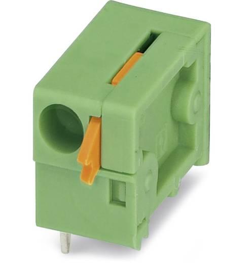 Veerkachtklemblok 1.50 mm² Aantal polen 1 FFKDSA1 / H2-7,62 Phoenix Contact Groen 250 stuks