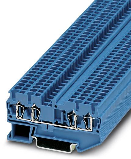 Phoenix Contact ST 2,5-QUATTRO BU ST 2,5-QUATTRO BU - doorgangsserieklem Blauw Inhoud: 50 stuks