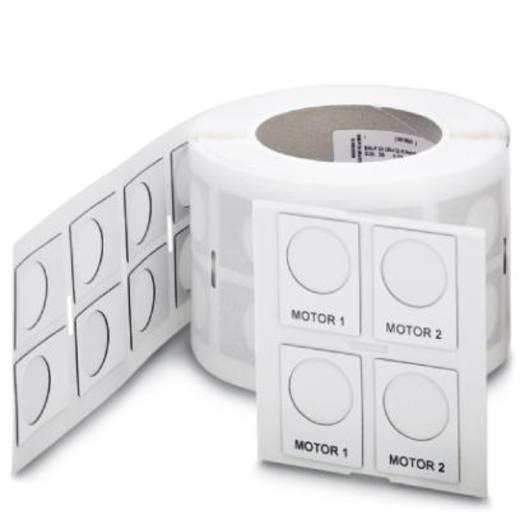 Apparaatmarkering Montagemethode: Plakken Markeringsvlak: 30 x 12 mm