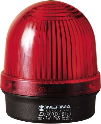 Werma Signaltechnik 200.100.00 Signaallamp Rood Continu licht 12 V/AC, 12 V/DC, 24 V/AC, 24 V/DC, 48 V/AC, 48 V/DC, 11