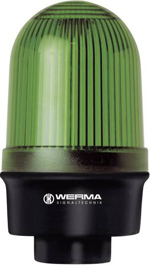 Werma Signaltechnik 219.200.00 Signaallamp Groen Continu licht 12 V/AC, 12 V/DC, 24 V/AC, 24 V/DC, 48 V/AC, 48 V/DC, 1