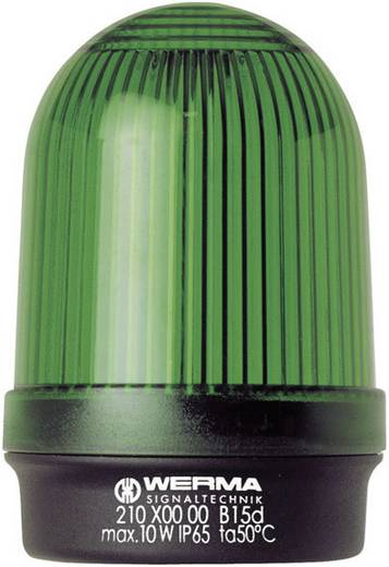 Werma Signaltechnik 210.200.00 Signaallamp Groen Continu licht 12 V/AC, 12 V/DC, 24 V/AC, 24 V/DC, 48 V/AC, 48 V/DC, 110 V/AC, 230 V/AC