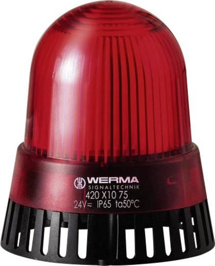 Werma Signaltechnik 420.110.75 Zoemer LED Rood Continu licht 24 V/AC, 24 V/DC 92 dB