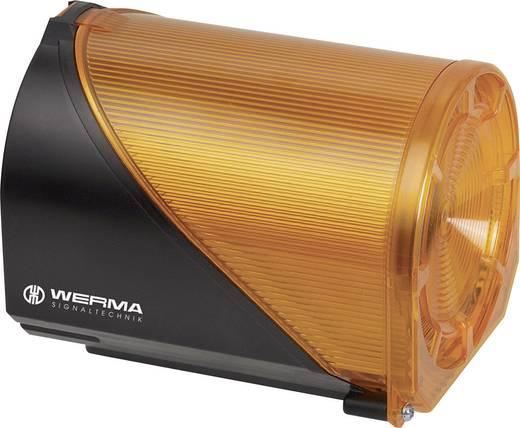 Werma Signaltechnik 444.300.75 Combi-signaalgever Geel 24 V/AC, 24 V/DC 110 dB