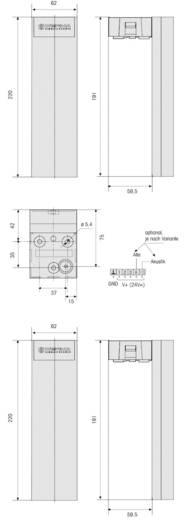 Werma Signaltechnik 690.220.55 Signaalzuil Rood, Geel, Groen 24 V/DC 85 dB
