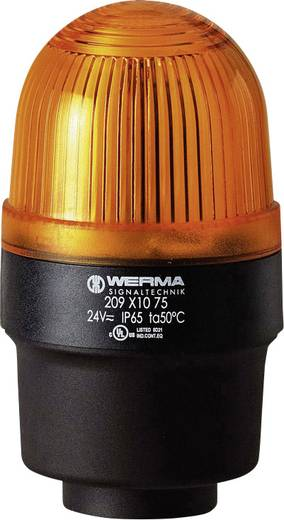 Werma Signaltechnik 209.320.68 Signaallamp Geel Flitslicht 230 V/AC