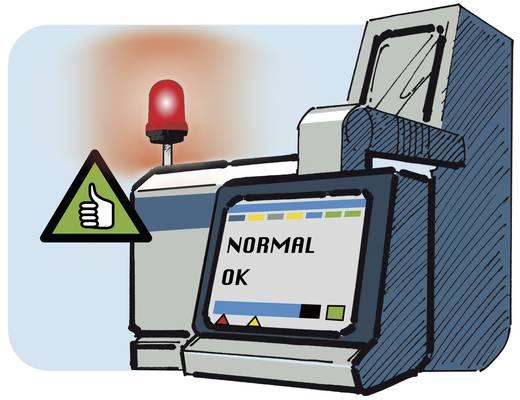 Werma Signaltechnik 829.150.55 Signaallamp LED Rood Continu licht, Knipperlicht 24 V/DC