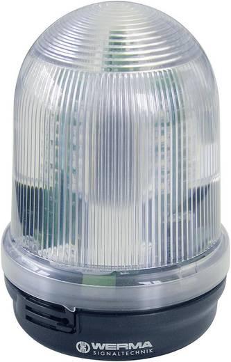 Werma Signaltechnik 829.350.55 Signaallamp LED Geel Continu licht, Knipperlicht 24 V/DC