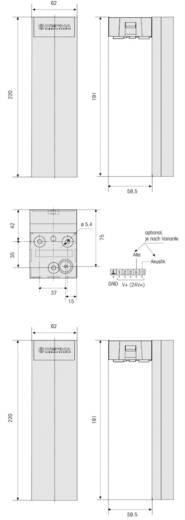 Werma Signaltechnik 690.320.55 Signaalzuil Rood, Geel, Groen 24 V/DC 85 dB