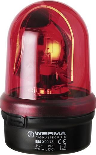 Werma Signaltechnik 885.100.75 Zwaailicht Rood Zwaailicht 24 V/AC, 24 V/DC
