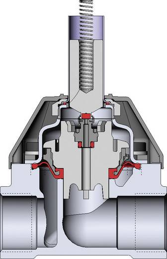Bürkert 221634 Servogestuurd ventiel 24 V/DC G 1 mof Nominale breedte 20 mm Materiaal (behuizing) Messing Afdichtmateriaal NBR