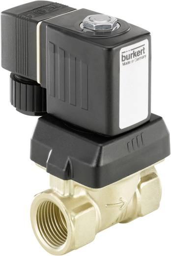 Bürkert 221677 Servogestuurd ventiel 230 V/AC G 1/4 mof Nominale breedte 10 mm Materiaal (behuizing) RVS Afdichtmateriaal NBR