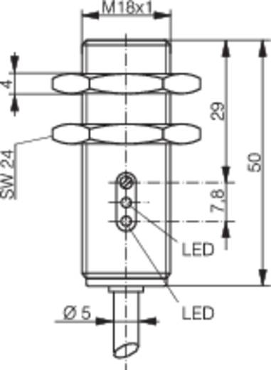Contrinex LTK-1180-103 Reflectie-lichtknop 10 - 36 V/DC 1 stuks