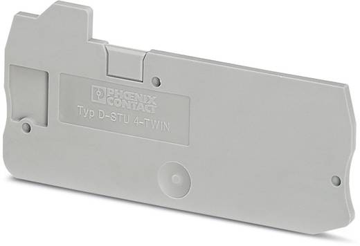 Phoenix Contact D-STU 4-TWIN D-STU 4-TWIN - afsluitdeksel 50 stuks
