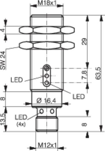 Contrinex LTS-1180-103 Reflectie-lichtknop 10 - 36 V/DC 1 stuks