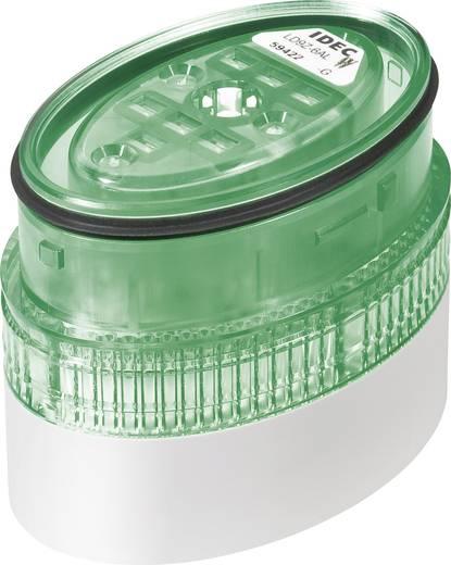 Signaalzuilelement LED Idec LD9Z-6ALW-G Groen Continu licht 24 V/DC, 24 V/AC