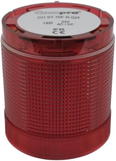 ComPro CO ST 70 Signaalzuilelement LED Rood Continu licht, Flitslicht, Zwaailicht 24 V/DC, 24 V/AC 75 dB