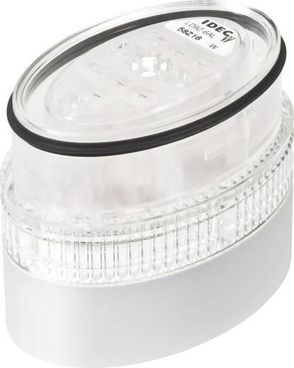 Signaalzuilelement LED Idec LD9Z-6ALW-W Wit Continu licht 24 V/DC, 24 V/AC