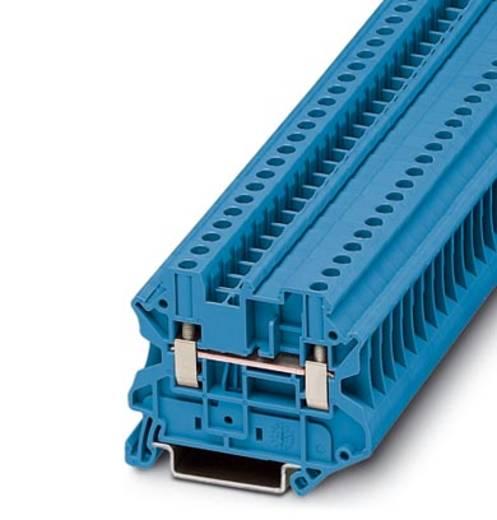 Phoenix Contact UT 4-MTD BU UT 4-MTD BU - doorgangsserieklem Blauw Inhoud: 50 stuks