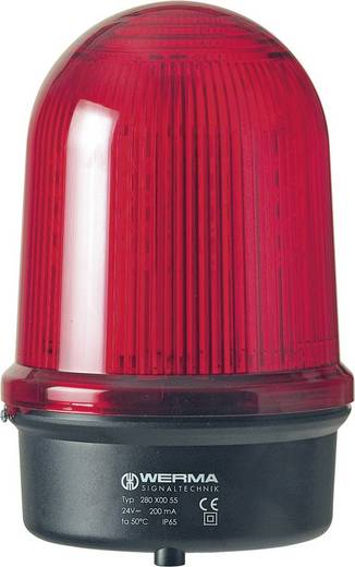 Werma Signaltechnik 280.350.55 Signaallamp LED Geel Flitslicht 24 V/DC