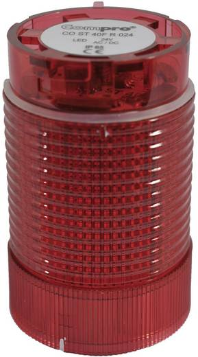 ComPro CO ST 40 Signaalzuilelement LED Rood Continu licht, Knipperlicht 24 V/DC, 24 V/AC 75 dB