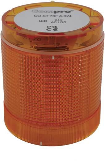ComPro CO ST 70 Signaalzuilelement LED Geel Continu licht, Knipperlicht 24 V/DC, 24 V/AC 75 dB