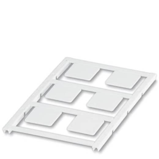 Apparaatmarkering Montagemethode: Plakken Markeringsvlak: 22 x 22 mm Geschikt voor serie Universeel gebruik Wit Phoenix