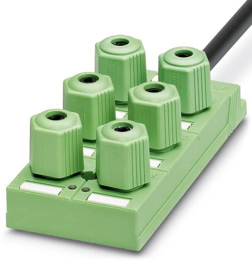 Passieve sensor/actorbox Quickon-vedeler SACB-6Q / 4P-L-10,0PUR
